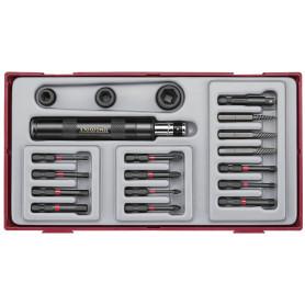 Set d'outils à choc 1/4'' Teng Tools TTID19