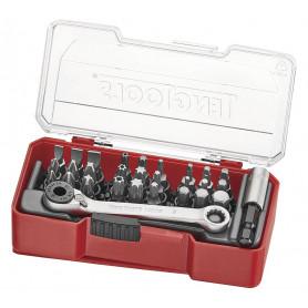 """Set d'embouts 1/4"""" pcs Teng Tools TJ1429"""