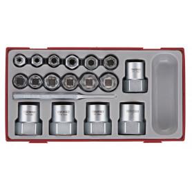 Set extracteurs écrous  Teng Tools TTBE18