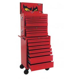 Servante d'atelier complète pro 1030 outils Teng Tools Mega Master Toolset 2001