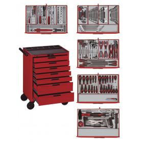 Servante d'outils professionnelle 215 pcs Teng Tools Master Toolset 215