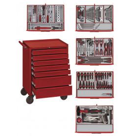 Servante d'atelier complète 215pcs Teng Tools Master Toolset 215
