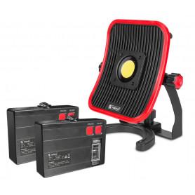 Lampe de chantier + 2 batteries MW-Tools WFL30LI-PACK1