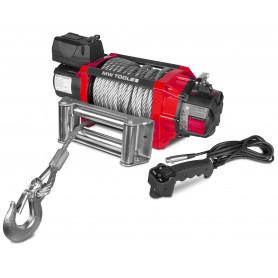 Treuil électrique 12V 8164 kg 22m télécommande radio  MW-Tools SEL820012