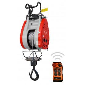 Palan à câble électrique 500 kg de qualité industrielle MW-Tools PHS500-R