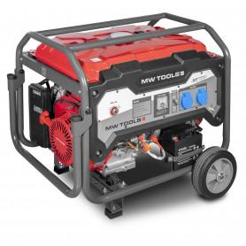 Groupe électrogène essence 230V 5kW - démarrage électrique  MW-Tools BG50E