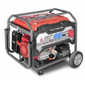Groupe électrogène essence 3x400V 6,5kW - démarrage électrique MW-Tools BG65ED
