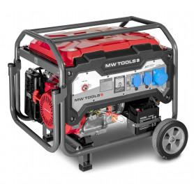 Groupe électrogène essence  7,5 kW 230 V - démarrage électrique MW-Tools BG75E