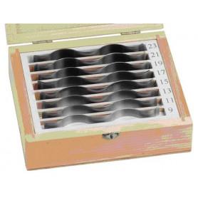Set de cales de précision (ondulées) MW-Tools VSSG8