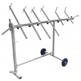 Support rotatif 1150 x 340 x 155 mm  MW-Tools SPS1200