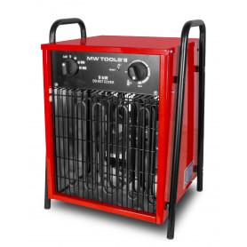 Outlet: 2ème main : peut présenter des traces d'utilisation.: Chauffage air pulsé mobile électrique 9 kW - 380V