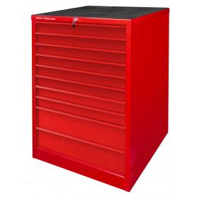 Armoire robuste à 10 tiroirs MW-Tools DERLK10S