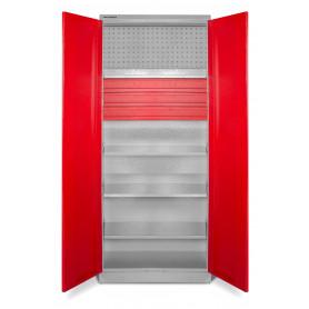 Armoire de rangement universelle étagères et tiroirs MW-Tools MODULAR DEK7838L