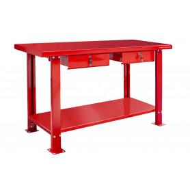 Établi 150 cm 2 tiroirs MW-Tools DER1500