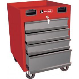 Servante d'atelier 4 tiroirs MW-Tools MODULAR MODK440