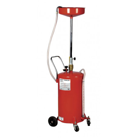 Récupérateur huile gravitation 68 l MW-Tools OD68
