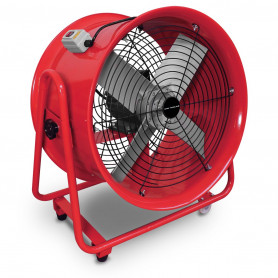 Ventilateur extracteur mobile 500mm - 1100W 380V MW-Tools MV500R3