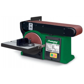 Ponceuse à bois combinée à bande et disque 400W Holzstar BTS150