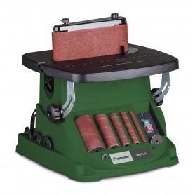 Ponceuse à broche et bande oscillante avec accessoires 450W Holzstar OBSS100