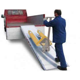 Rampe aluminium  1 Ton 2400x750mm  MW-Tools VAMPC24007501000