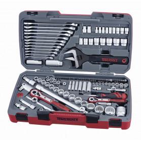 Jeu de douilles 1/2-1/4 127 pcs Teng Tools TM127