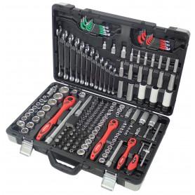 Jeu de douilles et embouts - 176 pcs MW-Tools BT176