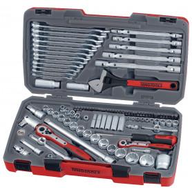 """Combiset 1/4""""-3/8""""-1/2"""" 106 pcs Teng Tools TM106"""