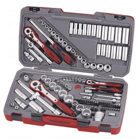 """Combiset 1/4""""-3/8""""-1/2"""" 111 pcs Teng Tools TM111"""