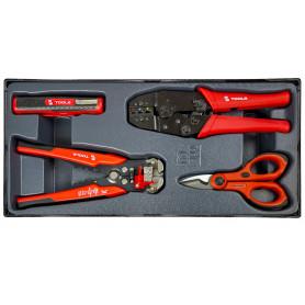 Pinces d'électricien coffre PP MW-Tools MWE4P