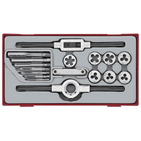 Set de tarauds et filières 17pcs Teng Tools TTTD17