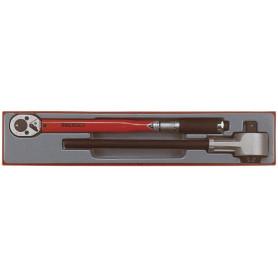 Jeu avec clé dynamométrique 1/2'' 40-210 Nm Teng Tools TTXMP12