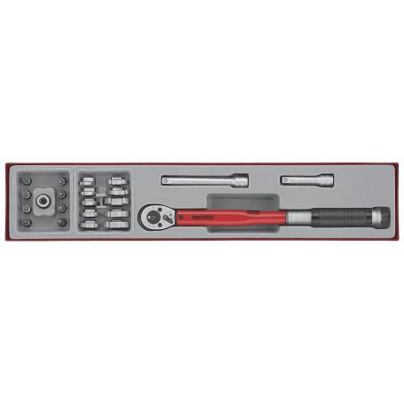 Clé dynamométrique - pour droitiers Teng Tools TTX3892