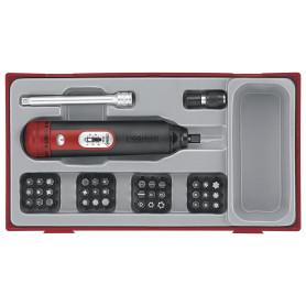 Jeu de tournevis-dynamométrique 39pcs Teng Tools TTSD39