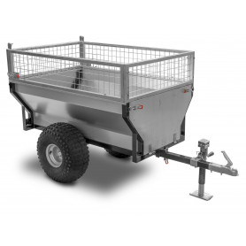 Remorque 500 kg avec benne basculante MW-Tools AHR500G