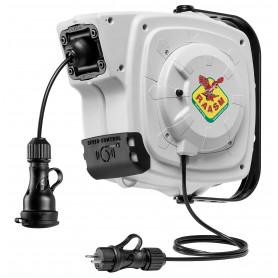 Enrouleur électrique prises 14 m - 3G 1,5 mm² Raasm RA.2315SF