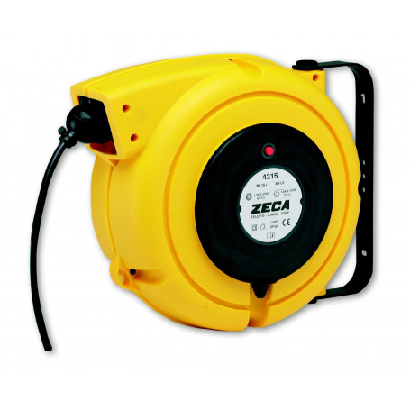 Enrouleur électrique caoutchouc 10 m - 3G 1,5 mm²  Zeca ZEEL4315 RNF