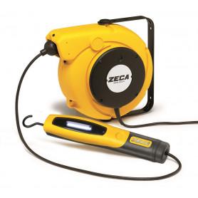 Enrouleur électrique baladeuse LED 14 m Zeca ZELED