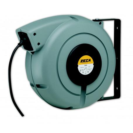 Enrouleur électrique caoutchouc 19 m - 3G 2,5 mm² Zeca ZEEL7325 RNF