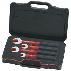 Jeu de clés fourche dynamométrique 4pcs  Teng Tools ACD01