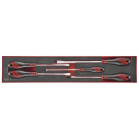 Jeu de tournevis 5st TEX-tray Teng Tools TEX915N