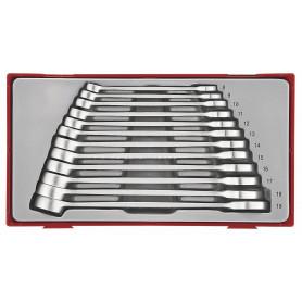 Jeu de clés mixtes 8-19mm TC-tray Teng Tools TT8012