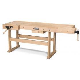 Établi en bois 2120 x 790 mm Holzkraft HB2007A