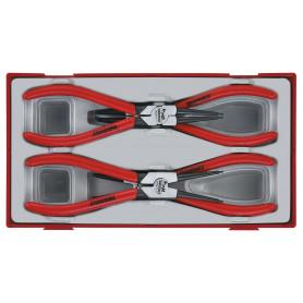 Pince circlips 4pcs 7-175mm dip Teng Tools TT474-7