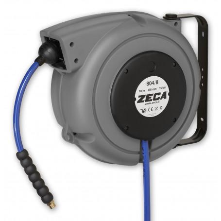 """Enrouleur air eau 10 m - 1/4"""" Zeca ZELU804/8/S"""