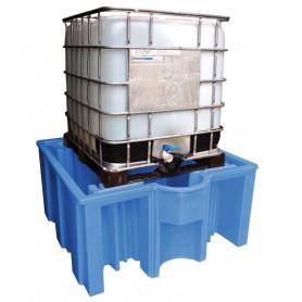 Bac de rétention en polyéthylène pour 1 cubitainer MW-Tools OVBIBC1