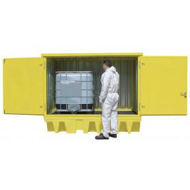 Réservoir PE pour 2 fûts IBC MW-Tools OQP24