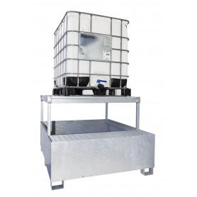 Bac de rétention 1 cuve IBC MW-Tools OPBHS12