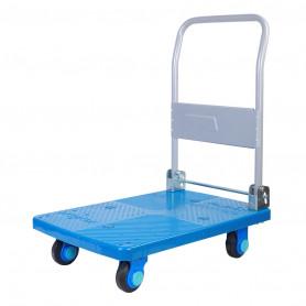 Outlet: 2ème main : peut présenter des traces d'utilisation.: Chariot plateforme 150 kg pliable, silencieux et très maniable