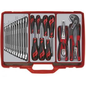 Coffre à outils complet 23 pcs  Teng Tools TC301