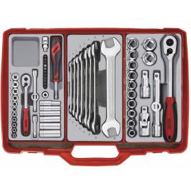 Coffre à outils complet 61pcs Teng Tools TC302